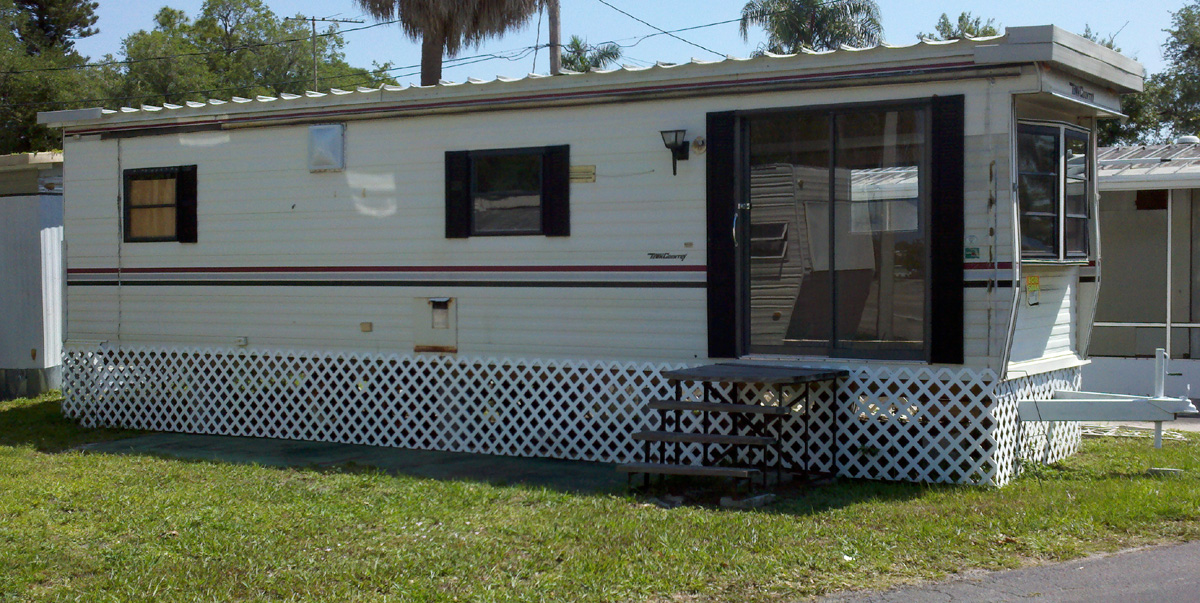 one bedroom trailers coconut mobile homes for in ft myers amp ocala 12741